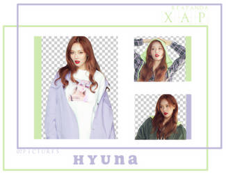 Pack Png 691 // Hyuna by xAsianPhotopacks