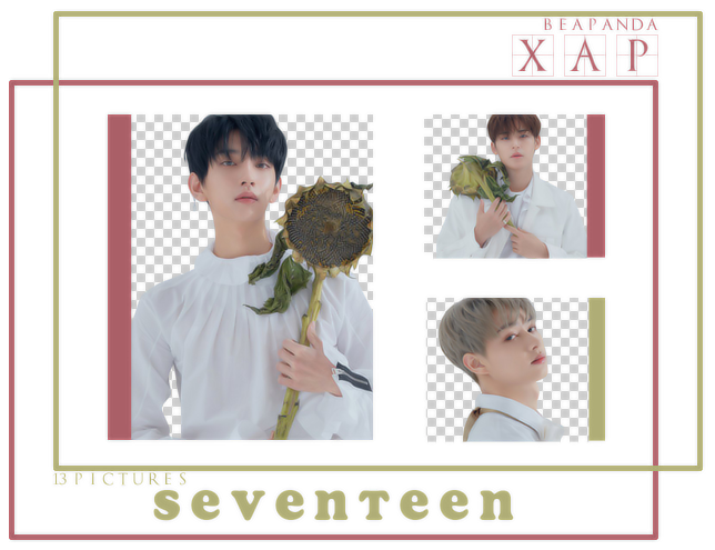 Pack Png 716 // SEVENTEEN (YOU MADE MY DAWN) by