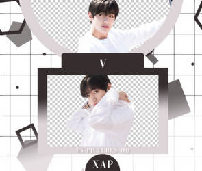 Pack Png 759 // V (BTS) by xAsianPhotopacks