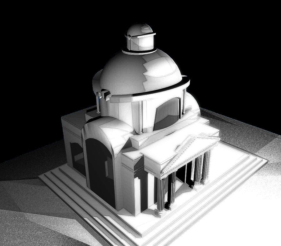 Blender architecture by MixedMilkChOcOlate