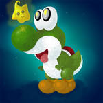 Yoshi so in love with star
