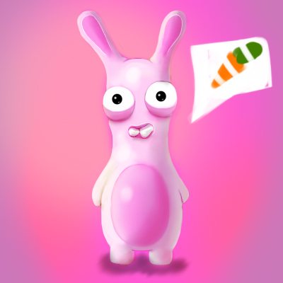 raving rabbid by MixedMilkChOcOlate