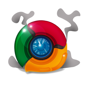 Not your usual chrome icon
