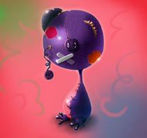 plushie forgotten monster by MixedMilkChOcOlate