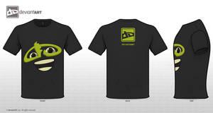 Deviantwear logo t-shirt entry