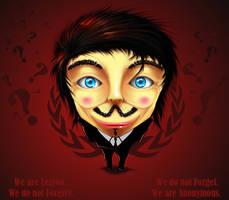 Anonymous fan art