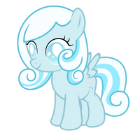 Snowdrop ~ The blind filly (with cutie mark) by 2bitmarksman