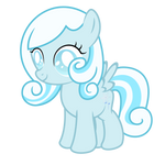Snowdrop ~ The blind filly (with cutie mark)