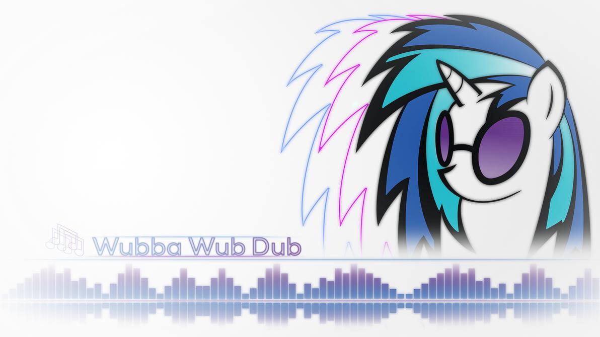 Vinyl Scratch Minimalist style ~ Wubba Wub Dub by 2bitmarksman