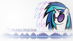 Vinyl Scratch Minimalist style ~ Wubba Wub Dub