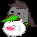 Kibbie and Shadowstone Chubbies ~ *glomp*