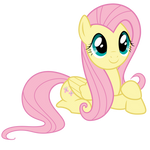 [Vector] Fluttershy ~ Quietly Observing