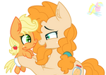 Mlp Pear Butter And Applejack