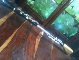 Clarinet Gun by maceobennett