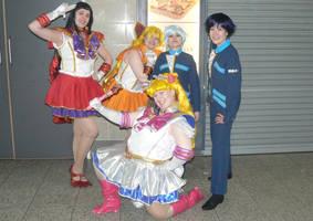 Sailor Moon - Sailor Scouts by SailorTelevator