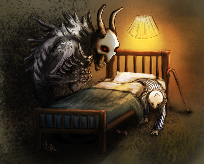 the monsters under the bed For most people, the surreal imagination of a big, scary monster hiding under the  bed is just a fantasy for others among us, we were forced to.