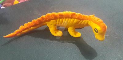 Yellow Dragon by Aqeel-Iraq