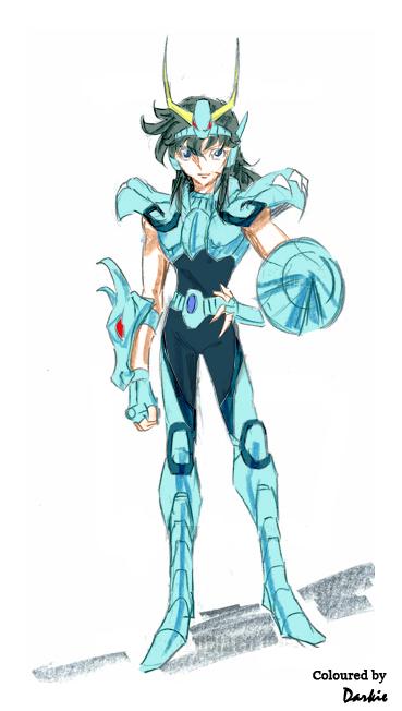 Araki-like Ryuhou sketch coloured by JaviviDarkie