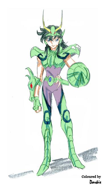 Araki-like Ryuhou sketch coloured 2nd Version by JaviviDarkie