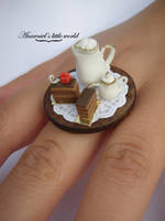Tea and cookies ring by anarniell