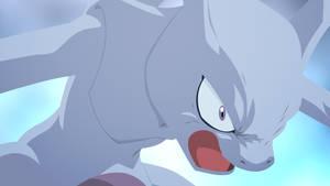 Mewtwo by Yophi-Bo
