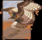 Asmir uses wing-wind, it wasn't affective {AF}