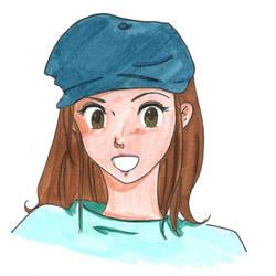 Digimon - Mimi Self Portrait
