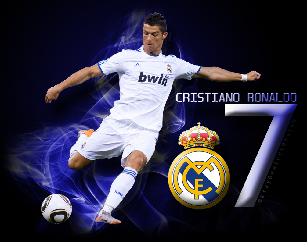Art Of Cristiano Ronaldo Fans Wallpaper Sport Soccer: Cristiano Ronaldo Wallpaper By OktayDemirciDesign On