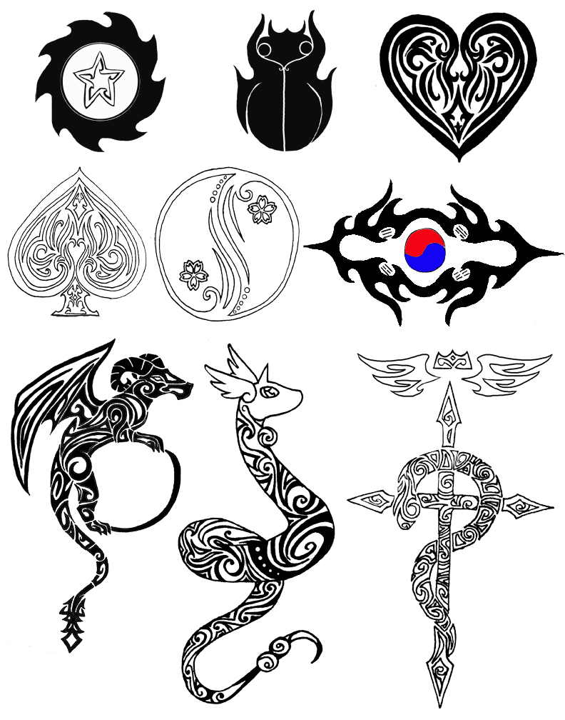 tattoo designs by mythicdragon30 on deviantart. Black Bedroom Furniture Sets. Home Design Ideas
