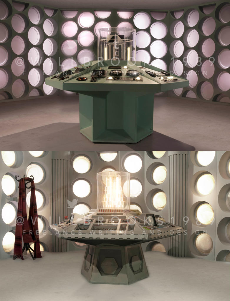 Doctor Who Experience Green Screen Backgrounds by willbrooks