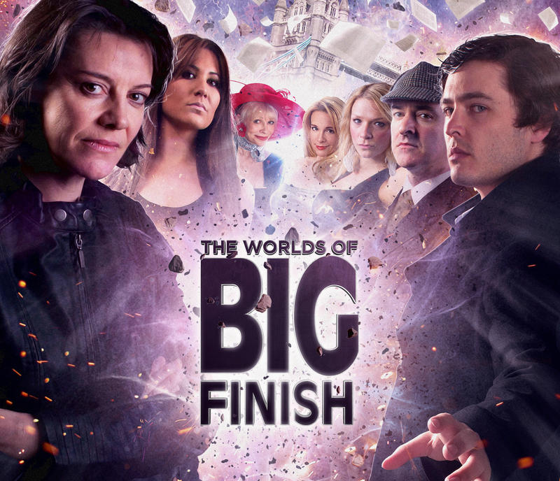 The Worlds of Big Finish - Cover by willbrooks
