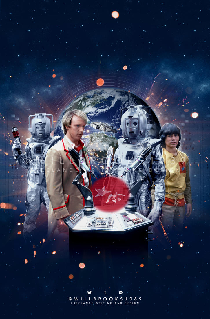 Doctor Who - Earthshock Cover Art by willbrooks