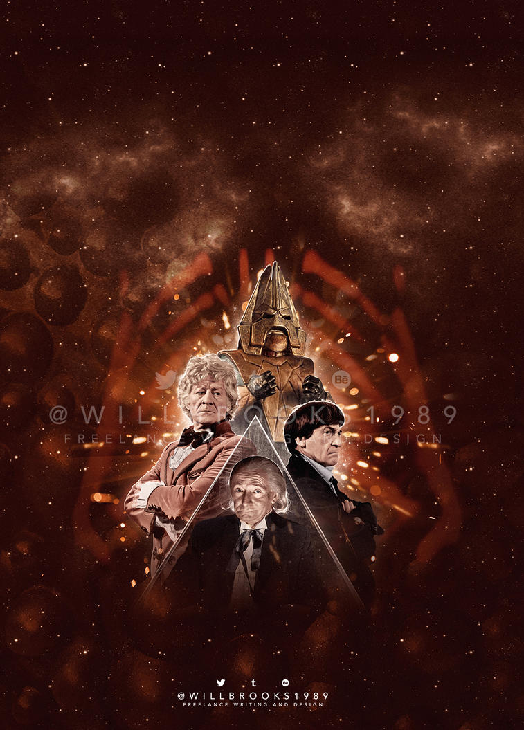 Doctor Who - The Three Doctors by willbrooks