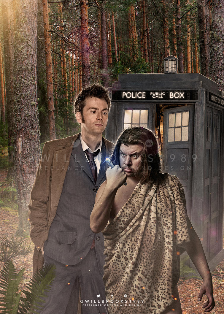 Doctor Who - Titan Comics: Tenth Doctor #2.4 by willbrooks