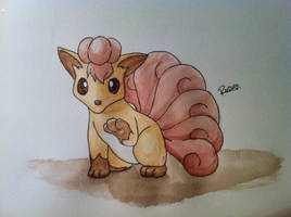 Kanto no. 037 Vulpix by Randomous