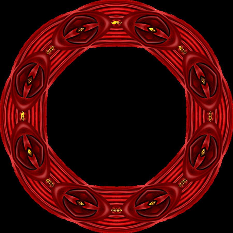 frame-red-round-with gold by gimpZora on DeviantArt