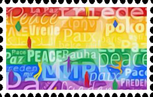 Peace, Stamp