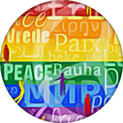 Peace, Button