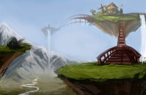 Floating Islands by madhousexx
