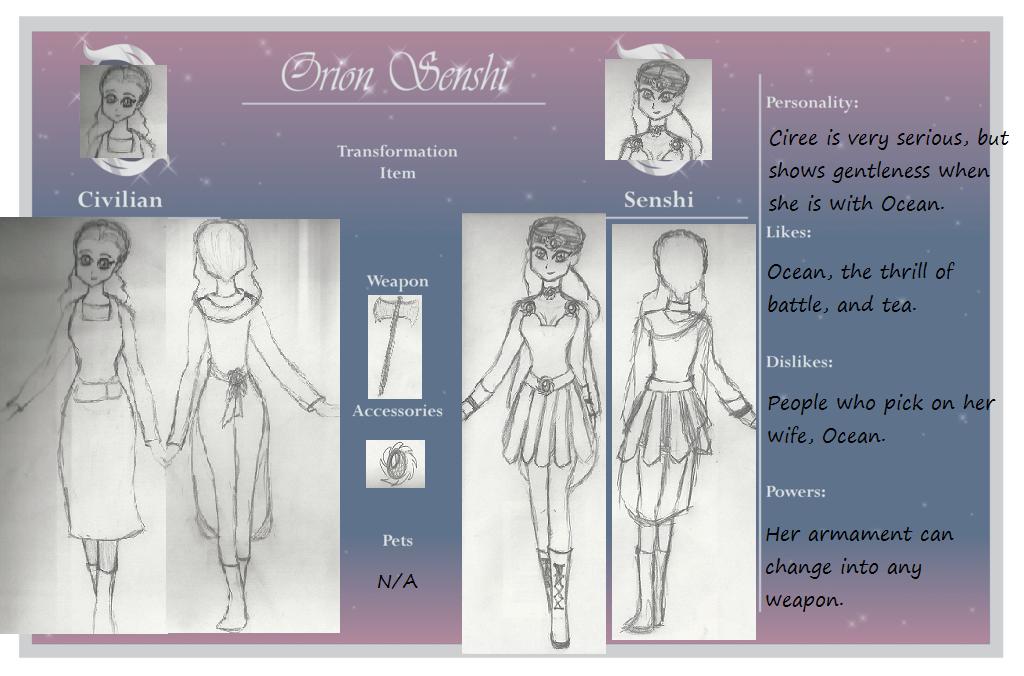 Bellatrix Character Sheet by BleuMune