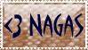 Heart Naga stamp by popcorncomics
