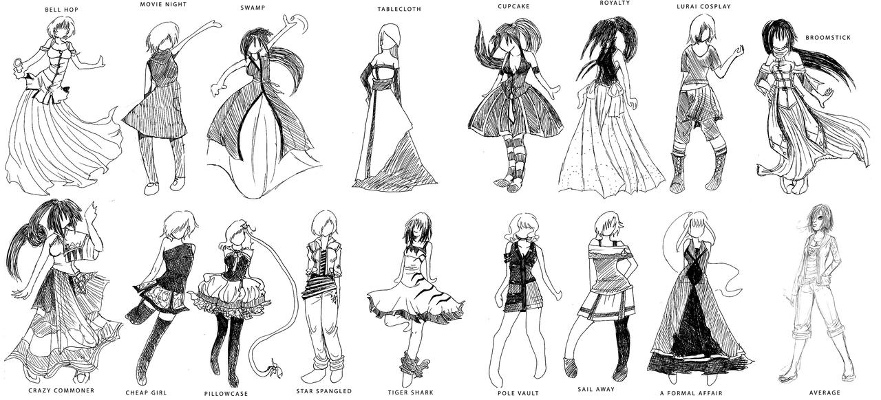 How To Draw Clothes Howtodrawanime