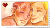 Old Flame Stamp by popcorncomics