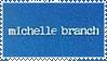 Michelle Branch Stamp by popcorncomics