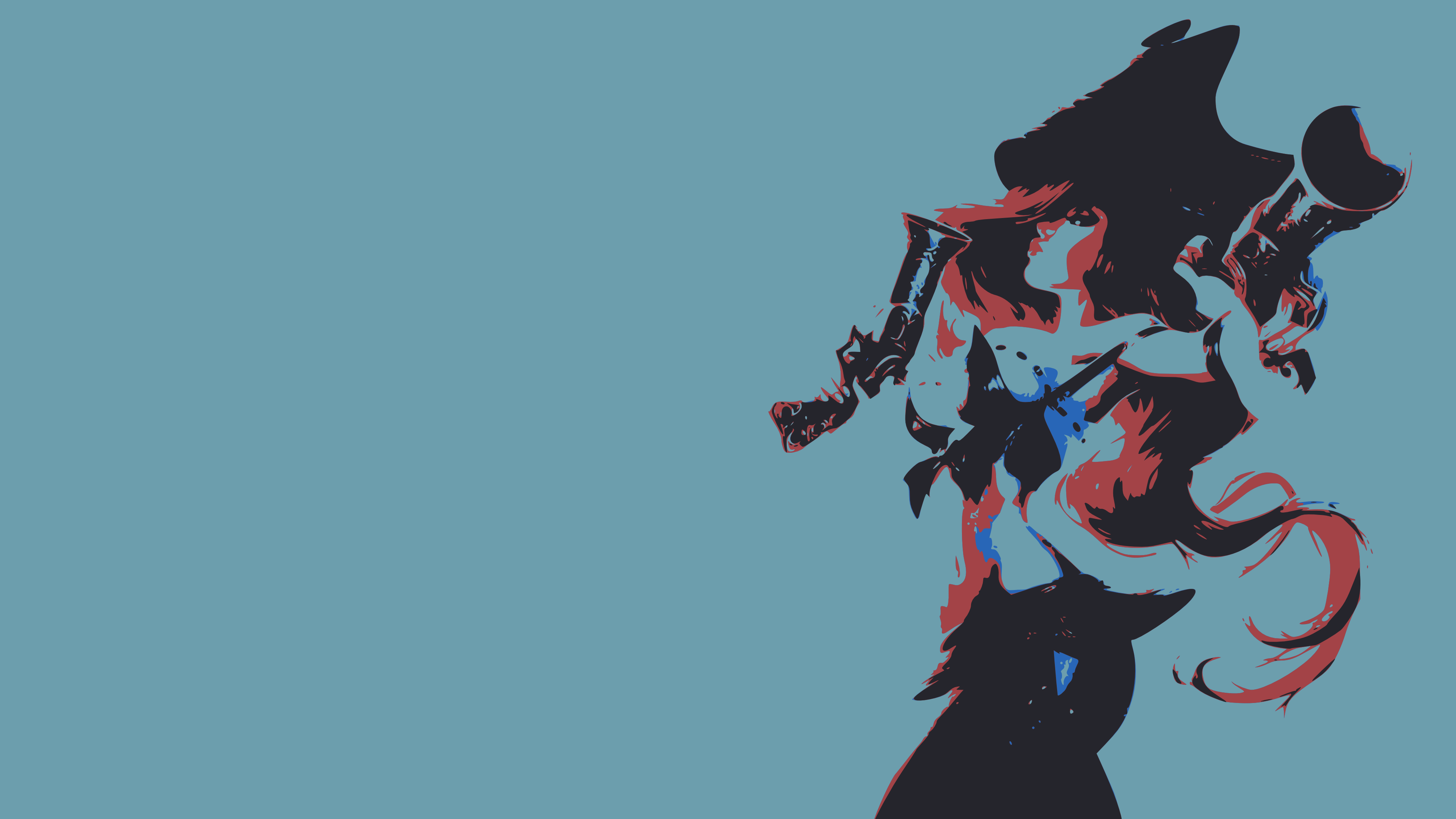 Miss Fortune minimalistic wallpaper by bohitargep Miss Fortune minimalistic  wallpaper by bohitargep