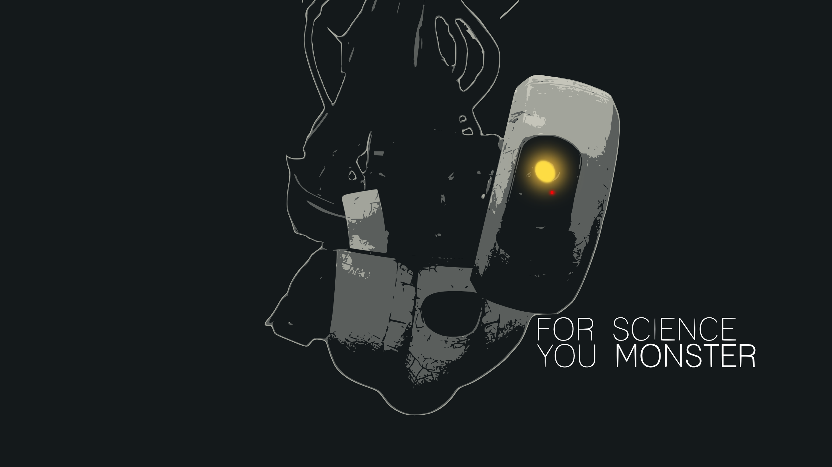portal glados quote wallpaper