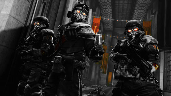 Helghast Red by GilgameshforEternity
