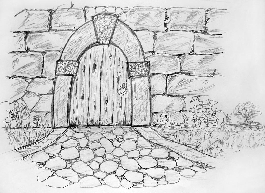 Closed Door Drawing closed doorsharky-mb on deviantart