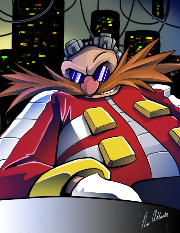 I am Doctor Eggman by NeoAtlantis