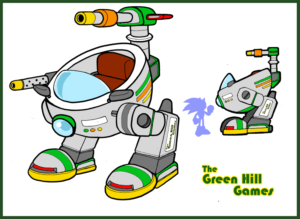Green Hill Games - Rental Mech Walker by NeoAtlantis